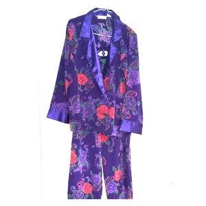 RARE vtg Victoria's Secret satin pajamas